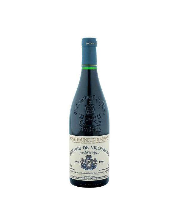 """Domaine de Villeneuve Châteauneuf-du-Pape """"Les Vieilles Vignes"""" 14,5% 0,75 l"""