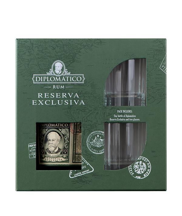 Diplomático Reserva Exclusiva Gift Box 40,0% 0,7 l