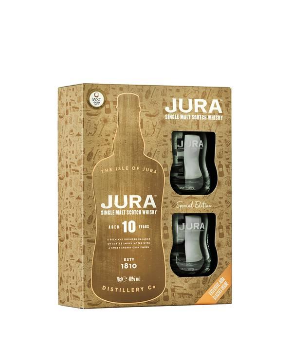 Jura 10 Y.O. Gift Box 40,0% 0,7 l